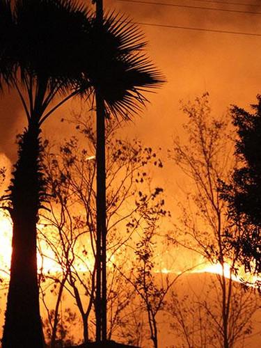 Hatay'daki yangında alevlerin sıçradığı bazı yerleşim yerleri boşaltılıyor