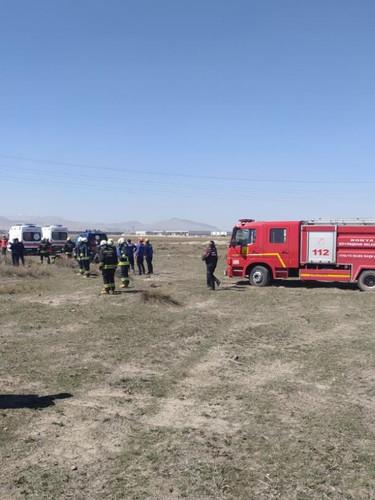 Konya'da Türk Yıldızları uçağı düştü! Olay yerinden fotoğraflar
