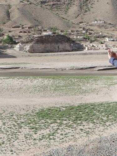Ayvalı Barajı'nın suları çekildi, yıllar sonra ortaya çıktı! Gören telefona sarıldı