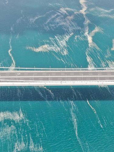 Müsilaj köprüyü böyle sardı