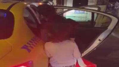 Ataşehir'de çocuğu üşüdüğü için taksi kullanmak isteyen kadını geri çeviren taksici bulundu, ceza kesildi