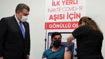 Sağlık Bakanı Fahrettin Koca'dan üçüncü doz aşı için Turkovac çağrısı