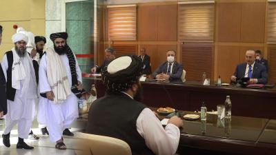 Taliban heyeti ile Ankara'da temas! İşte fotoğraflar