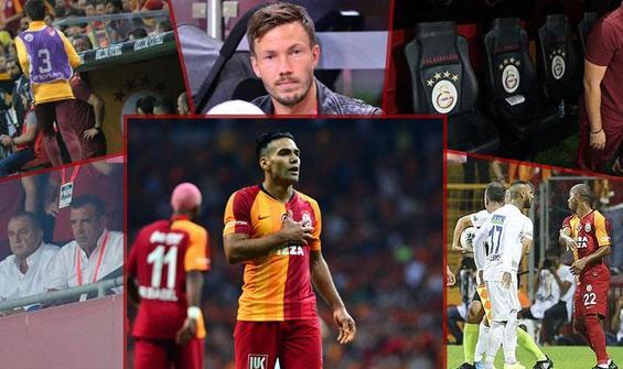 6 karede Galatasaray-Kasımpaşa maçı
