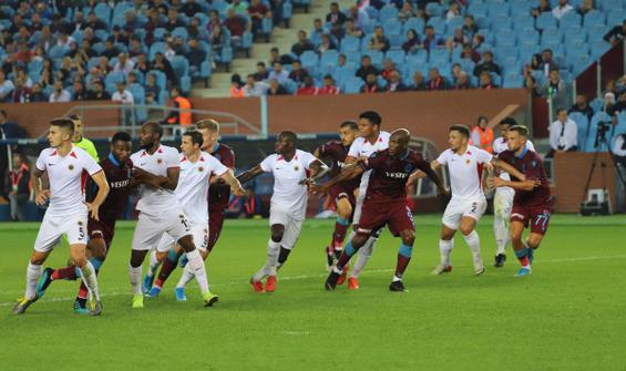 Trabzon sahasında 1 puanla yetindi