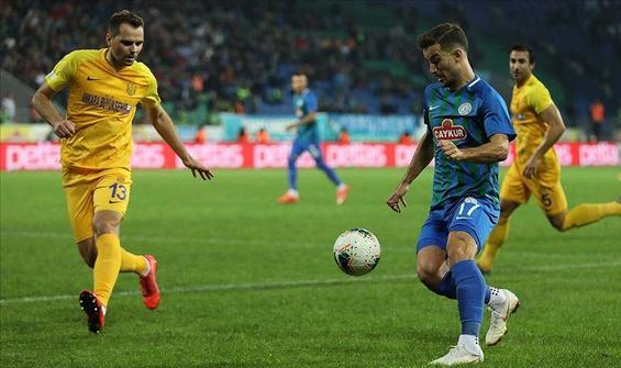 Çaykur Rizespor, MKE Ankaragücü'nü 2-0 yendi