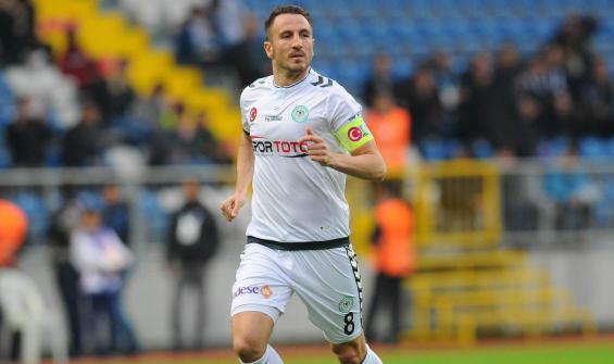 Konyaspor takım kaptanı Beşiktaş maçında yok