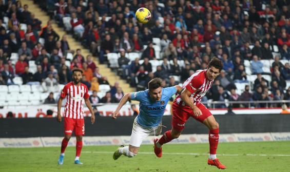 Gaziantep kaçtı, Antalyaspor yakaladı