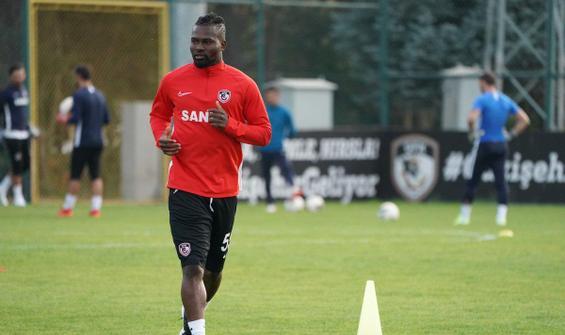 Gaziantep FK'da Abdul Aziz Tetteh 3 ay daha yok