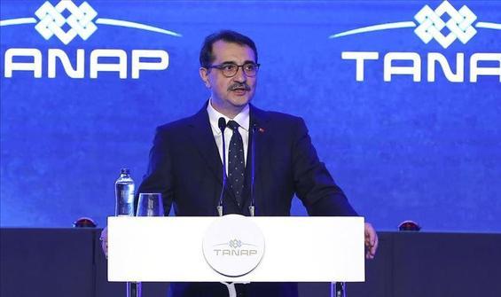 Bakan Dönmez: TANAP'ın Avrupa yolculuğu başlıyor