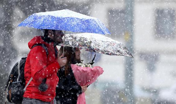 Meteoroloji'den yağmur ve kar uyarısı! ile ilgili görsel sonucu