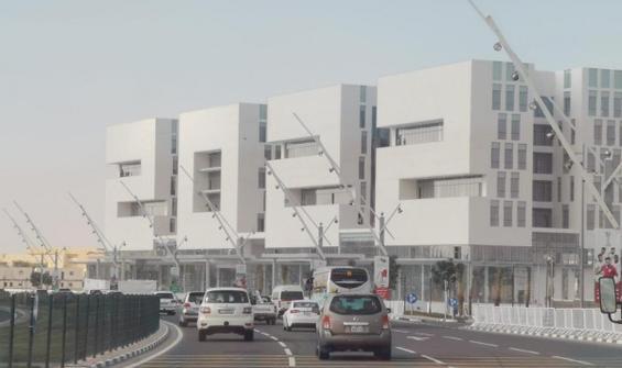 Katar, Dünya Kupası'na özel bina inşa etti