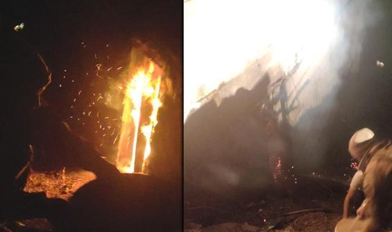 Jandarma havaya ateş açtı, hayatları kurtuldu