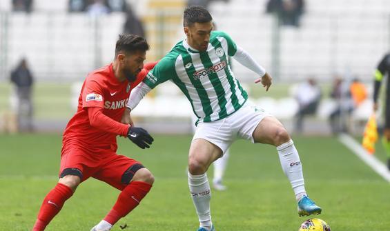 Konyaspor'un galibiyet hasreti sürüyor