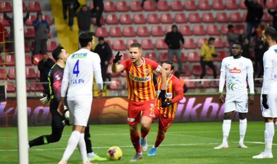 Kayserispor ikinci galibiyetini aldı