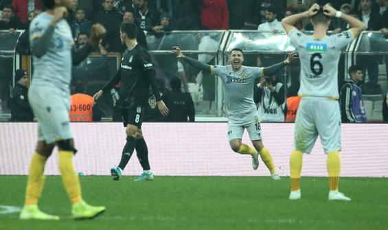 Beşiktaş 0-2 Yeni Malatyaspor
