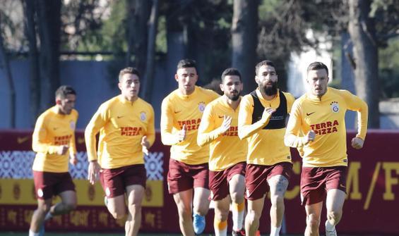 Galatasaray'da Göztepe hazırlıkları başladı