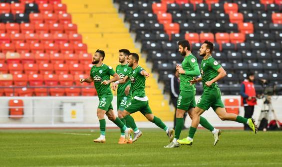 Kırklarelispor, Gaziantep FK'yı kupadan eledi