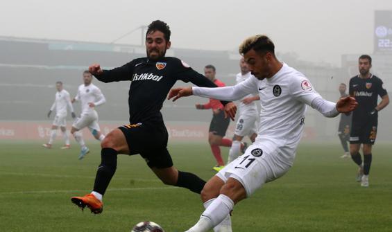 6 gollü maçta tur atlayan Kayserispor oldu