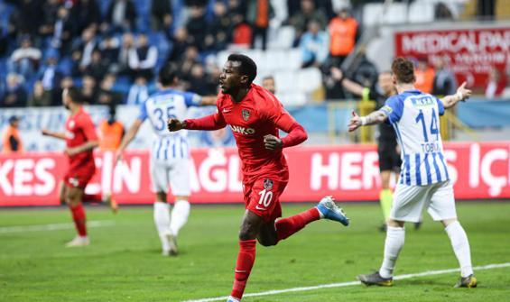 Gol düellosunda gülen Gaziantep FK