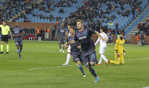 Trabzonspor'dan Kayserispor'a yarım düzine gol