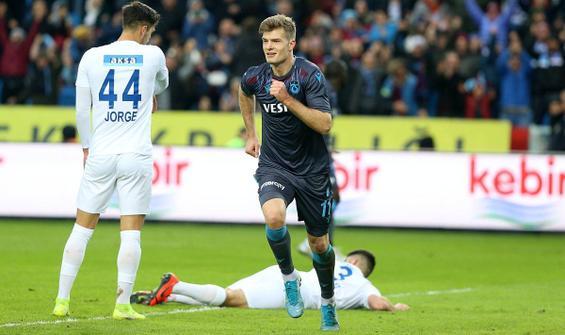 Trabzonspor'dan Kasımpaşa'ya yarım düzine gol