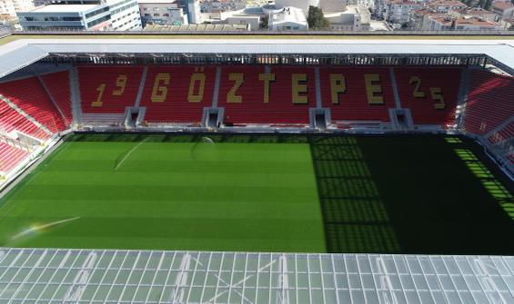 Göztepe'nin yeni stadı gün sayıyor