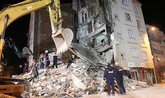 Elazığ'daki deprem ile ilgili görsel sonucu