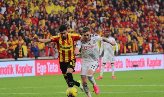 Göztepe - Beşiktaş maçında kural hatası yapıldı iddiası!