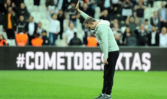 Beşiktaş'ta Sergen Yalçın için açıklama bekleniyor