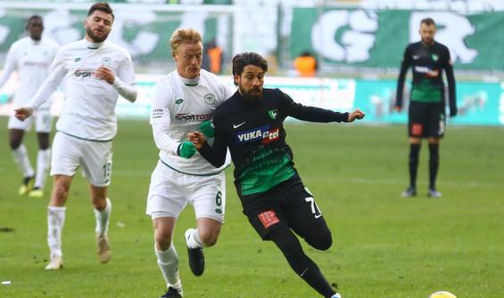 Konyaspor ile Denizlispor galibiyeti unuttu!