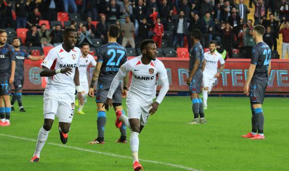 Trabzonspor, Gaziantep'te takıldı
