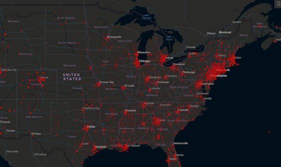 ABD'de virüsten  ölenlerin sayısı 2 bin 191'e yükseldi