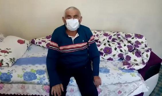 82 yaşında koronavirüsü yendi