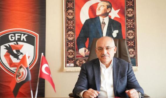 Gaziantep FK'den liglerin devamı kararına destek