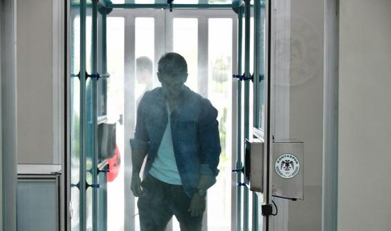 Konyaspor'dan tesislere dezenfekte kabini