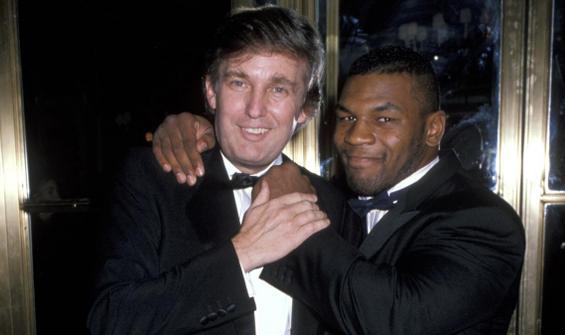 Mike Tyson, Donald Trump'ı dövmeye kalkmış