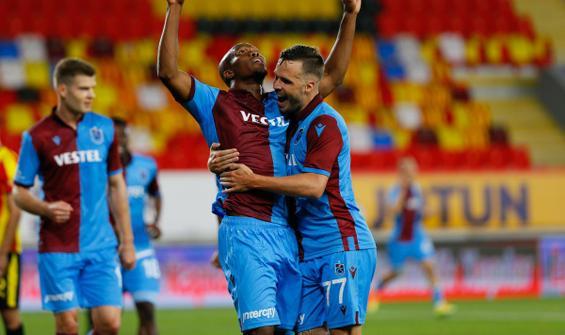 Trabzonspor, Göztepe'yi 3 golle geçti