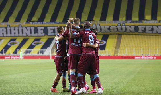 Trabzonspor kupada finale yükseldi