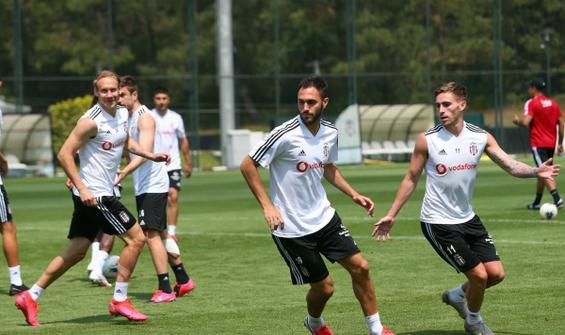 Beşiktaş, Konyaspor hazırlıklarına devam etti