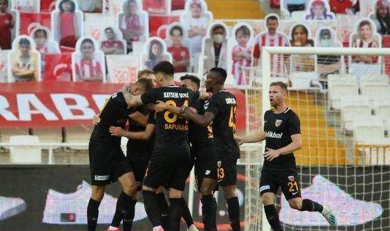 Sivasspor'da düşüş sürüyor