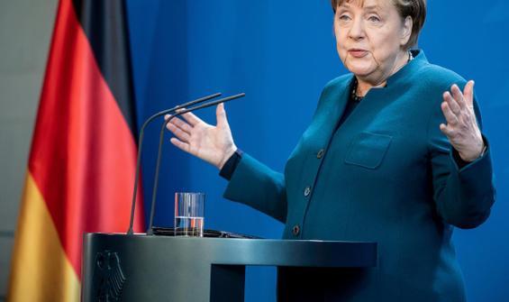 Merkel: Daha önce hiç görmediğimiz zorluklar yaşıyoruz