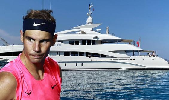 Ünlü tenisçi Rafael Nadal Göcek'te kaza yaptı!