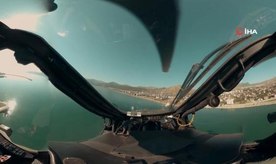 Atak Helikopterinin gözünden bir operasyon...