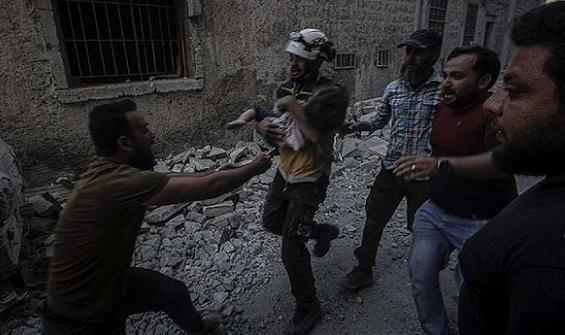 """Esad rejimi İdlib'de savaş suçu işledi"""