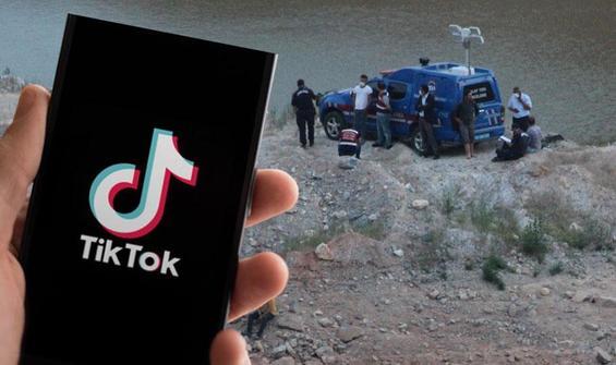 TikTok'a video çekmek isterken canından oldu