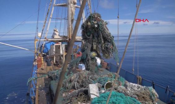 Okyanustan 103 ton plastik toplandı!