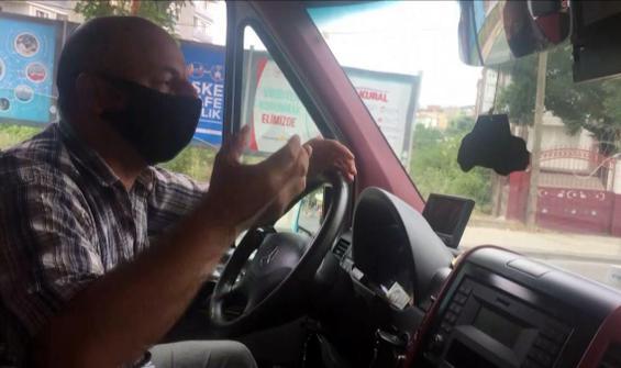 Minibüs şoförü isyan etti: Anahtarla polise bırakacağım