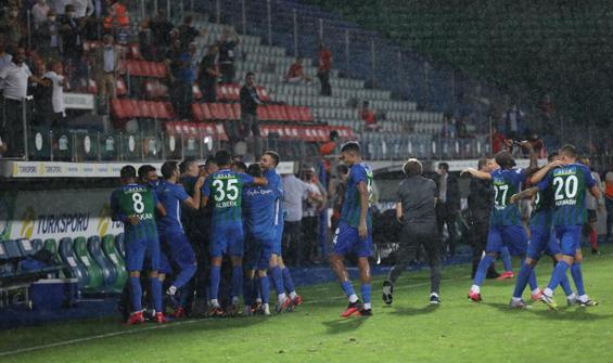 Çaykur Rizespor'dan müthiş geri dönüş