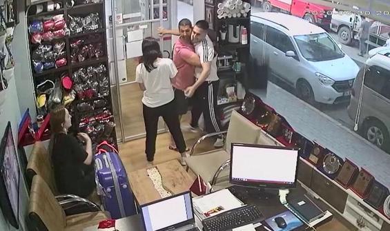 Milli antrenör sevgilisinden kaçan kadını böyle korudu